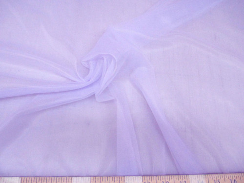 Discount Fabric Stretch Voile Lavender 108 inch Sheer VO305