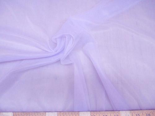 Discount Fabric Stretch Chiffon Lavender 108 inches wide Tr305