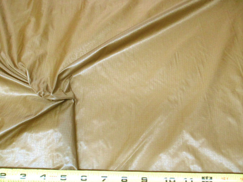 Discount Fabric Ripstop Rip Stop Nylon Water Resistant Brown RS18