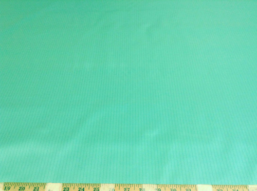 Discount Fabric Ripstop Rip Stop Carbon Stripe Water Resistant Persian Green RS1