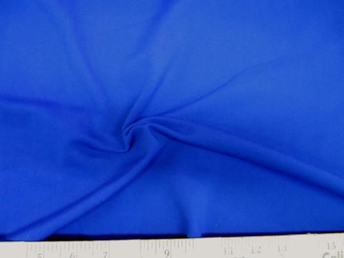 Discount Fabric Scuba 4 way Stretch Royal Blue LY987