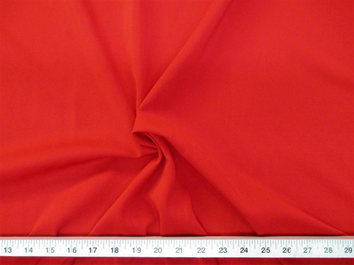 Discount Fabric Polyester Lycra Spandex 4 way Super Stretch Red  LY994