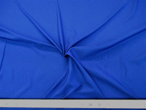Discount Fabric Cotton Blend Royal Blue Lining Material CB17