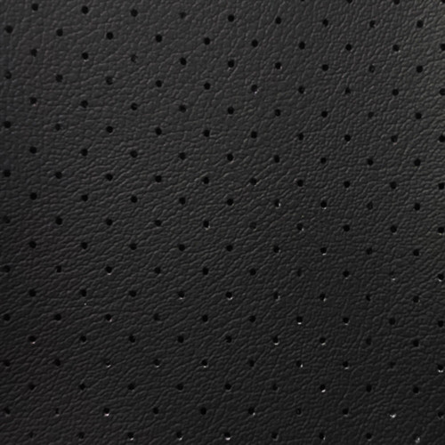 Discount Fabric Marine Vinyl Outdoor Upholstery Black Perforated MA20