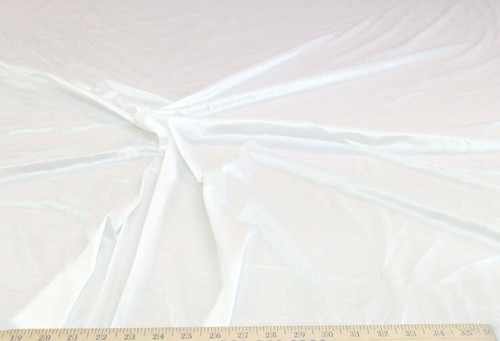 Discount Fabric 108 inch wide Aerial Silks Acrobatic Dance Stretch Tricot White