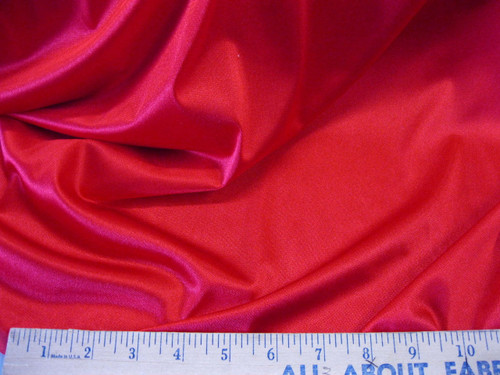 Discount Fabric 108 inch wide Aerial Silks Acrobatic Dance Stretch Tricot Red