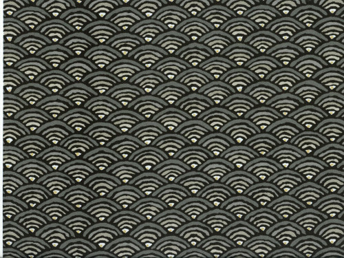 Discount Fabric Richloom Upholstery Drapery Radar Graphite Abstract Arches NN23