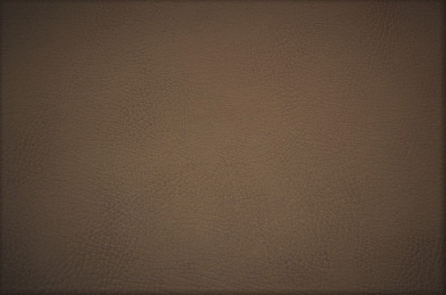 Fabric Richloom Tough Faux Leather Pleather Vinyl Tiona Taupe Brown PP20