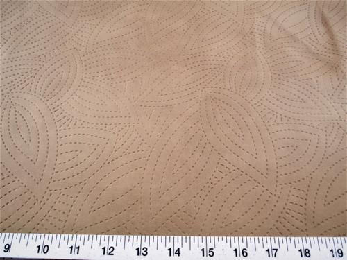 Discount Fabric Richloom Tough Faux Leather Pleather Vinyl Kensington Taupe SS41