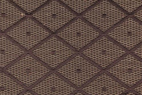 Fabric Robert Allen Beacon Hill Dotted Nets Earth Silk Diamond Upholstery *J26