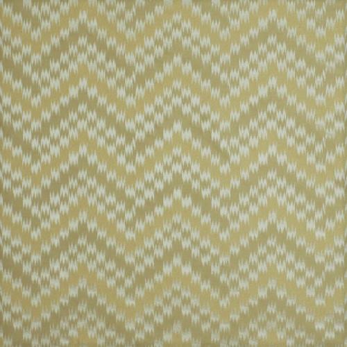 Fabric Robert Allen Beacon Hill Bienville Frost Silk Ikat Chevron Drapery II32