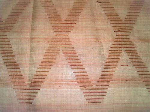 Fabric Robert Allen Beacon Hill Ababca Diamond Flambeau Silk Sheer Drapery *J10