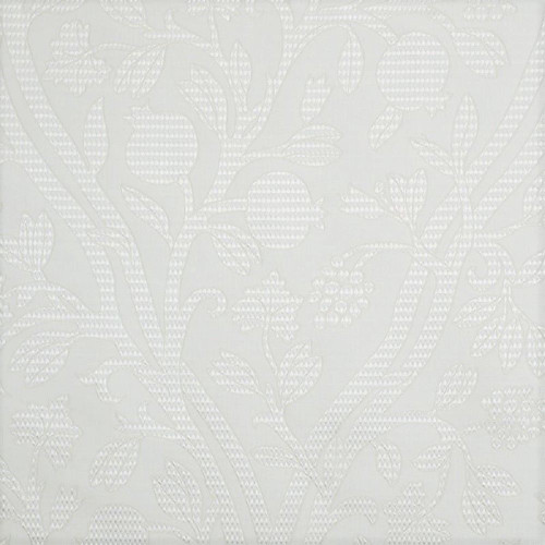 Fabric Robert Allen Beacon Hill Amerikey Snow Silk Matelassé Floral Drapery II41