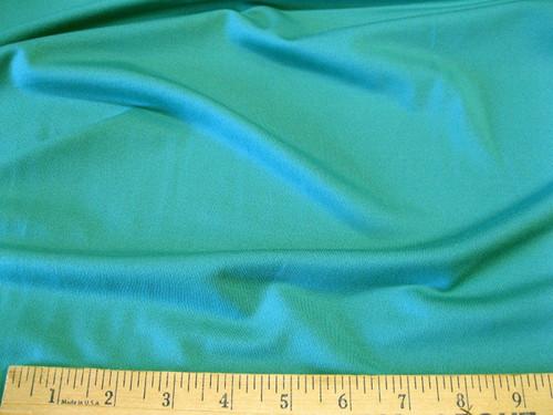 Discount Fabric Polyester Lycra Spandex  4 way stretch Light Turquoise Matt Finish LY905