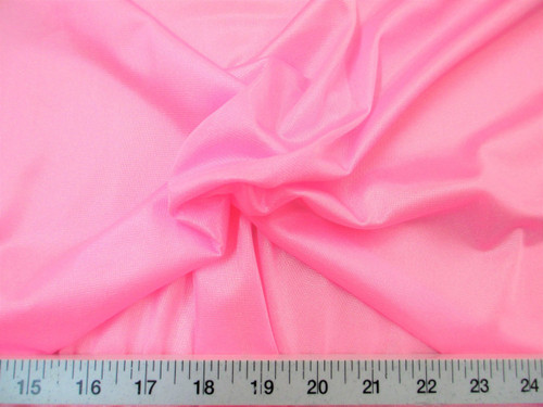 "Discount Fabric 108"" wide Aerial Silks Acrobatic Dance Stretch Tricot Bubblegum Pink TR02"