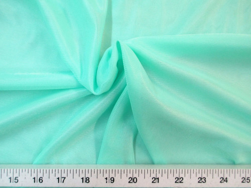 "Discount Fabric 108"" wide Aerial Silks Acrobatic Dance Stretch Tricot Mint TR04"
