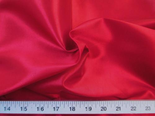 Discount Fabric Two Tone Iridescent Apparel Taffeta Cherry Red Taf04