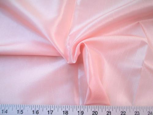 Discount Fabric Two Tone Iridescent Apparel Taffeta Blush Pink Taf08
