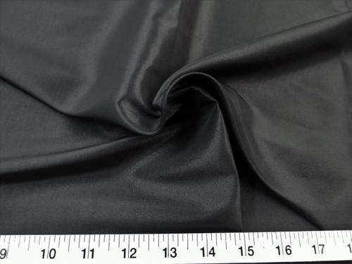 Discount Fabric Two Tone Iridescent Apparel Taffeta Black Taf10