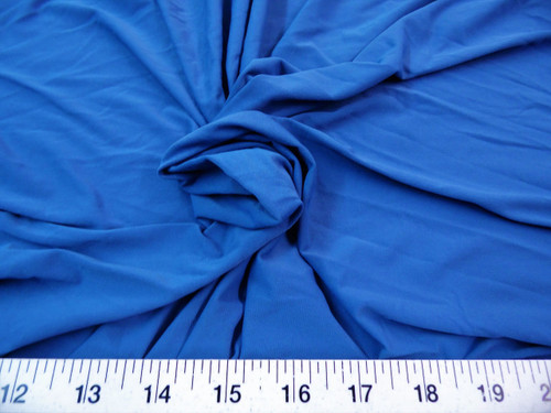 Discount Fabric Light Weight Lycra Spandex 4 way stretch Slate Blue LY717