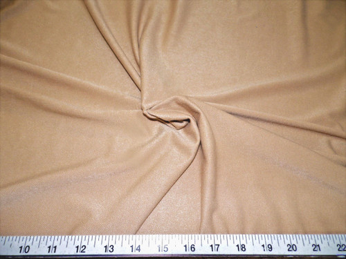 Discount Fabric Dryline lycra spandex wicking Performance Stretch Dark Nude DT15
