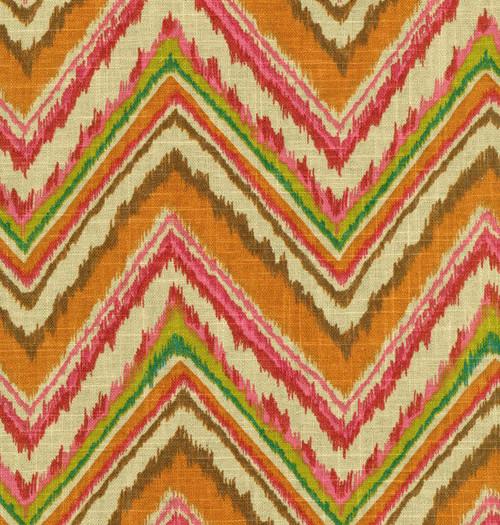 Fabric Upholstery Drapery Waverly Dena Designs Chevron Charade Gypsy EE24