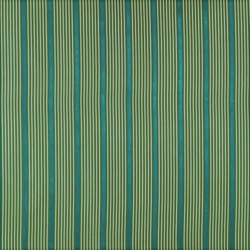 Fabric Robert Allen Beacon Hill Kelly Stripe Emerald 100% Silk Drapery *J17
