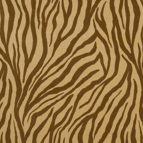 Fabric Robert Allen Beacon Hill Mumbai Copper Zebra Silk Velvet Upholstery *J318