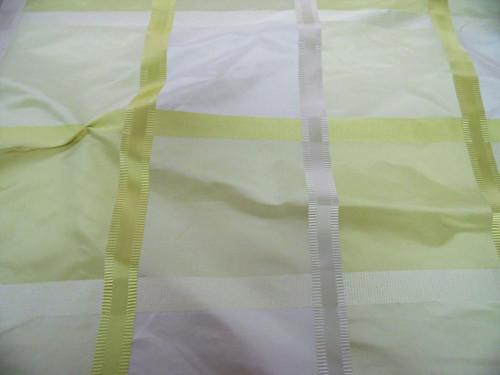 Fabric Robert Allen Beacon Hill Monte Rosa Yellow Lotus 100% Silk Drapery *J319