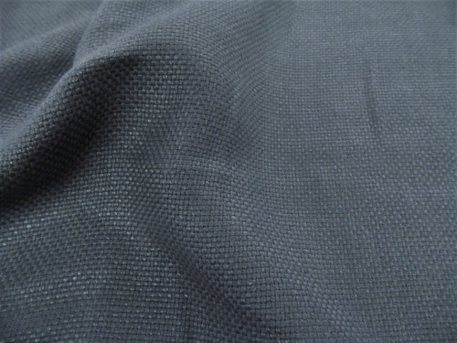 Fabric Robert Allen Beacon Hill Madison Solid Titanium Linen Upholstery II25