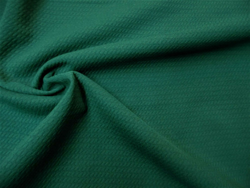 Bullet Textured Liverpool Fabric 4 way Stretch Emerald Green S21