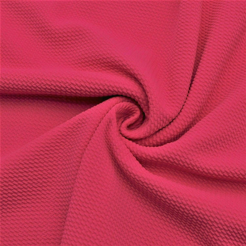 Bullet Textured Liverpool Fabric 4 way Stretch Hot Pink S30