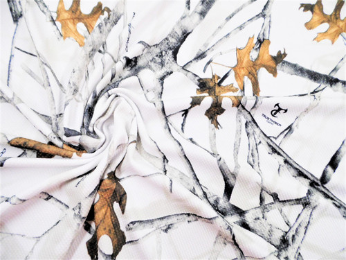 Printed Bullet Liverpool Textured True Timber Conceal White camouflage Fabric U12