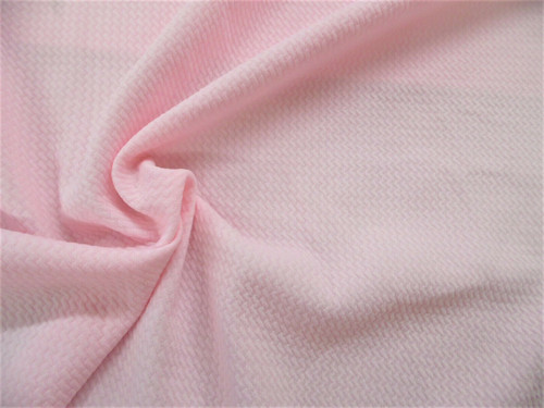 Bullet Textured Liverpool Fabric 4 way Stretch Pastel Pink R32