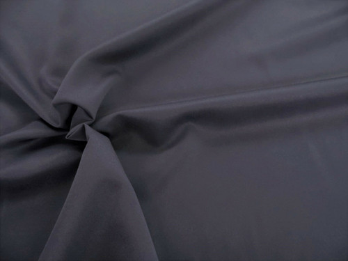 Discount Fabric 2 Ply 100% Nylon Taslan Water Repellent Graphite Gray KK32