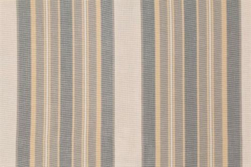 Fabric Robert Allen Beacon Hill Thistle Stripe Pewter White Drapery *J49