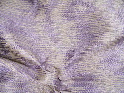Robert Allen Beacon Hill Fabric Water Meadow Lilac Silk Upholstery Drapery *J28