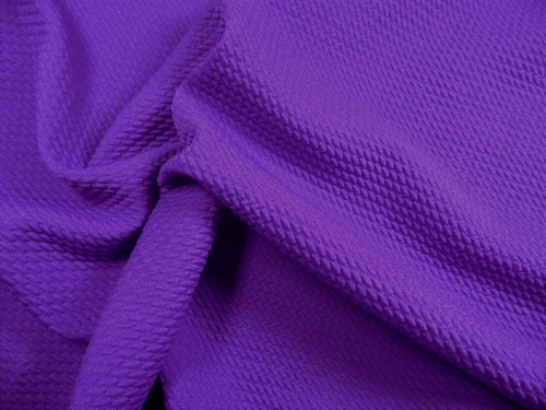 Bullet Textured Liverpool Fabric 4 way Stretch Purple R13