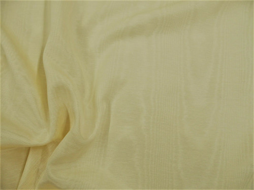 Discount Fabric Moire` Bengaline Faille Ivory SS26