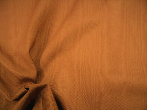 Discount Fabric Moire` Bengaline Faille Copper SS28