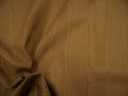 Discount Fabric Moire` Bengaline Faille Chocolate Brown SS34