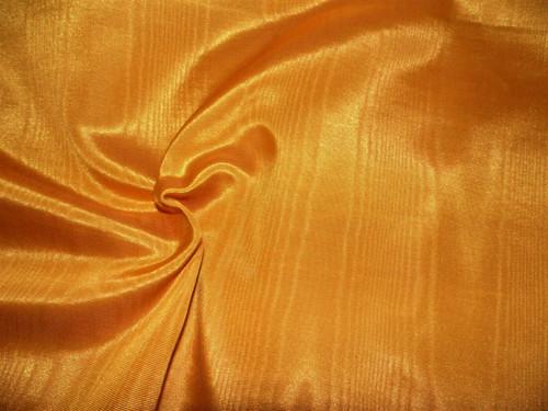 Discount Fabric Moire` Bengaline Faille Pumpkin Orange SS36