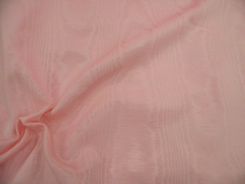 Discount Fabric Moire` Bengaline Faille Pink SS37