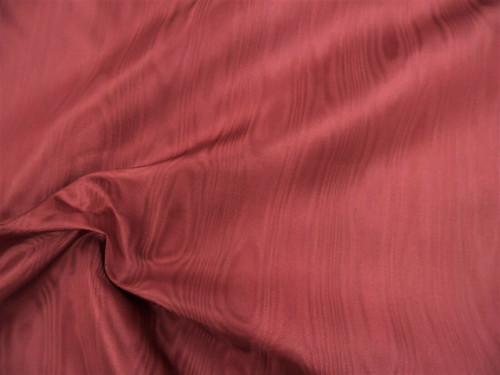 Discount Fabric Moire Taffeta Burgundy SS312