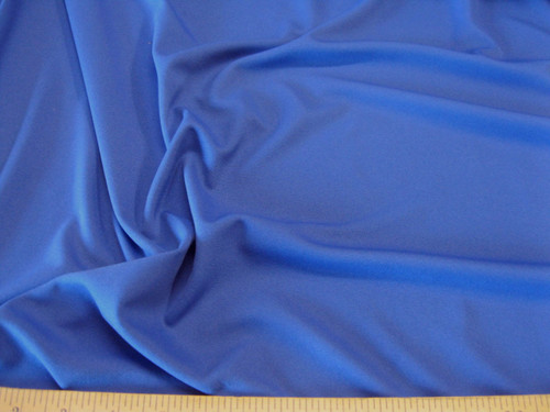 Discount Fabric Lycra Spandex  4 way stretch Solid Blue LY936