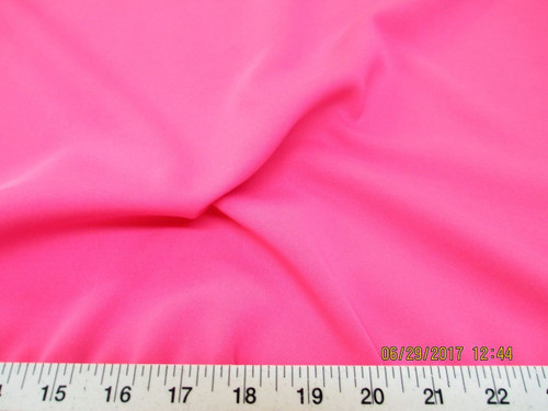 Discount Fabric Lycra Spandex  4 way Super Stretch Solid Pink LY922