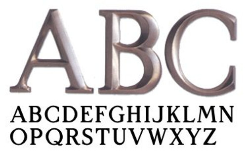 Architectural Metal Letter