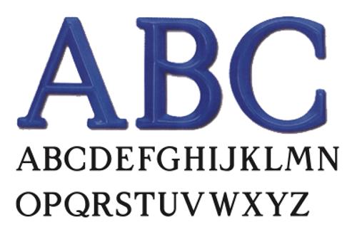 Architectural Plastic Letters