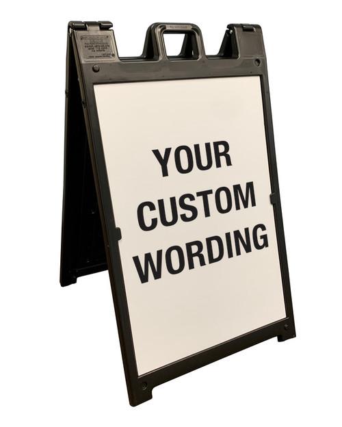 Custom A-Frame Sign