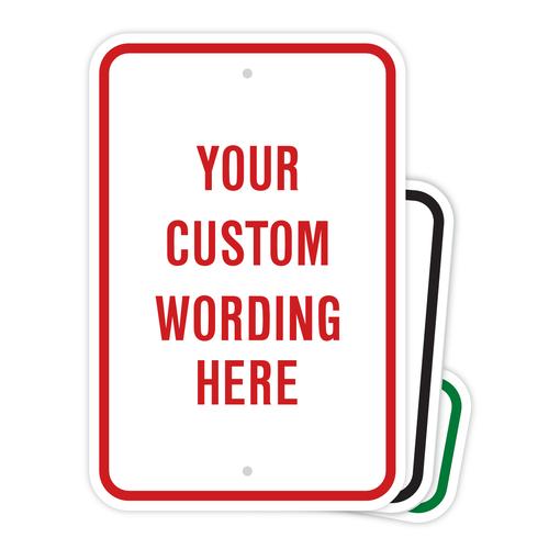 Custom Metal Sign Builder